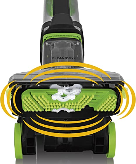 Cleanmaxx 07107 Alfombra limpiador Professional, lavado, limpieza, potencia, incluye alfombra Champú para anhaltende los Restos, 2.8 L, 800 W, Verde/Negro: Amazon.es: Hogar
