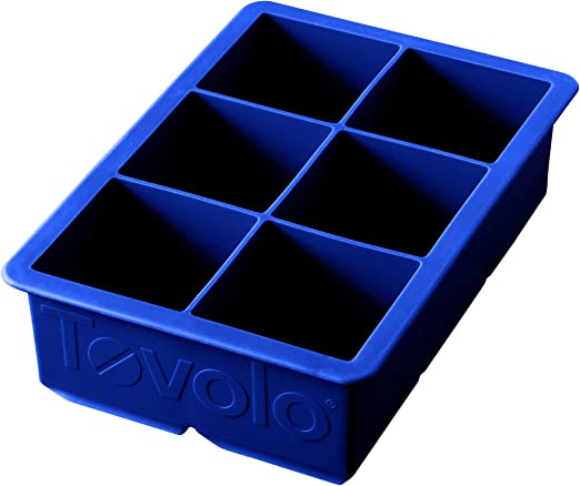 2x Silicone Stratus Stacking 9-Ice Cube Trays Mould Maker W//Cover