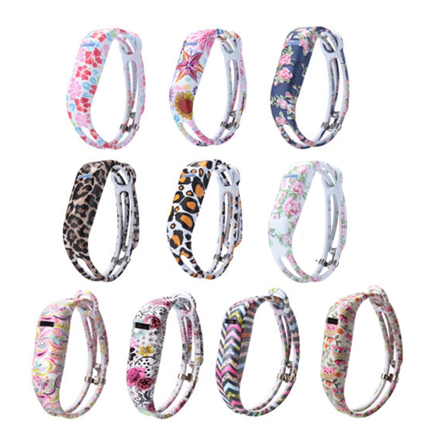 I-SMILE for Fitbit Flex, Fashion Silicone Wristband Accessory/Wireless  Activity Bracelet Sport Arm Band for Fitbit Flex