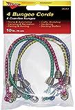 """Keeper 06051 10"""" Mini Bungee Cord, 4 Pack"""