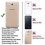 Galaxy J7 2017 Case, BENTOBEN Heavy Duty Shockproof