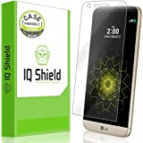 LG G5 Screen Protector, IQ Shield LiQuidSkin (Case Friendly) Full Coverage Screen Protector for LG G5 HD Clear Anti-Bubble Film - with
