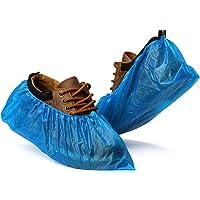 Fundas desechables para zapatos de Fuluxe, 100 unidades (50 pares) desechables para botas de zapatos, impermeables y…