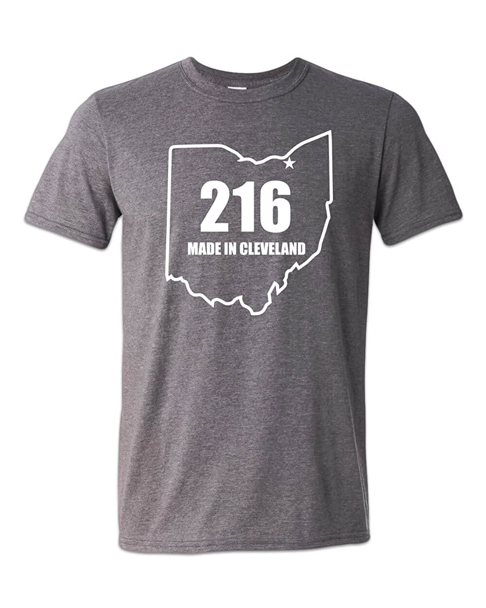 ea2f4f2b067a Zepp Tees 216 Made in Cleveland T-Shirt Ohio Pride Believeland The Land    Amazon.com