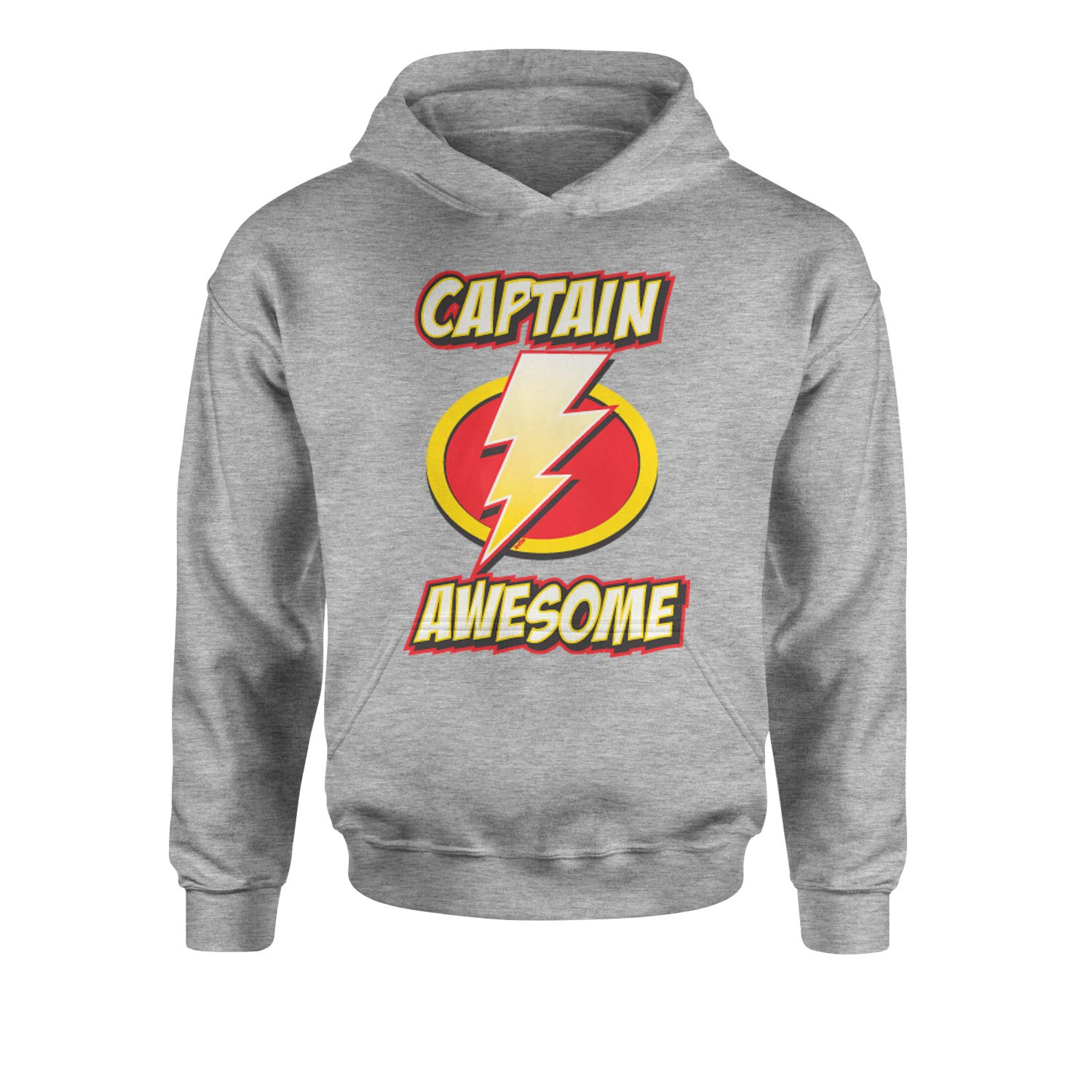 Expression Tees Captain Awesome Youth-Sized Hoodie