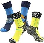 [SGS Certified] RANDY SUN Unisex Waterproof & Breathable Hiking/Trekking/Ski Socks 2