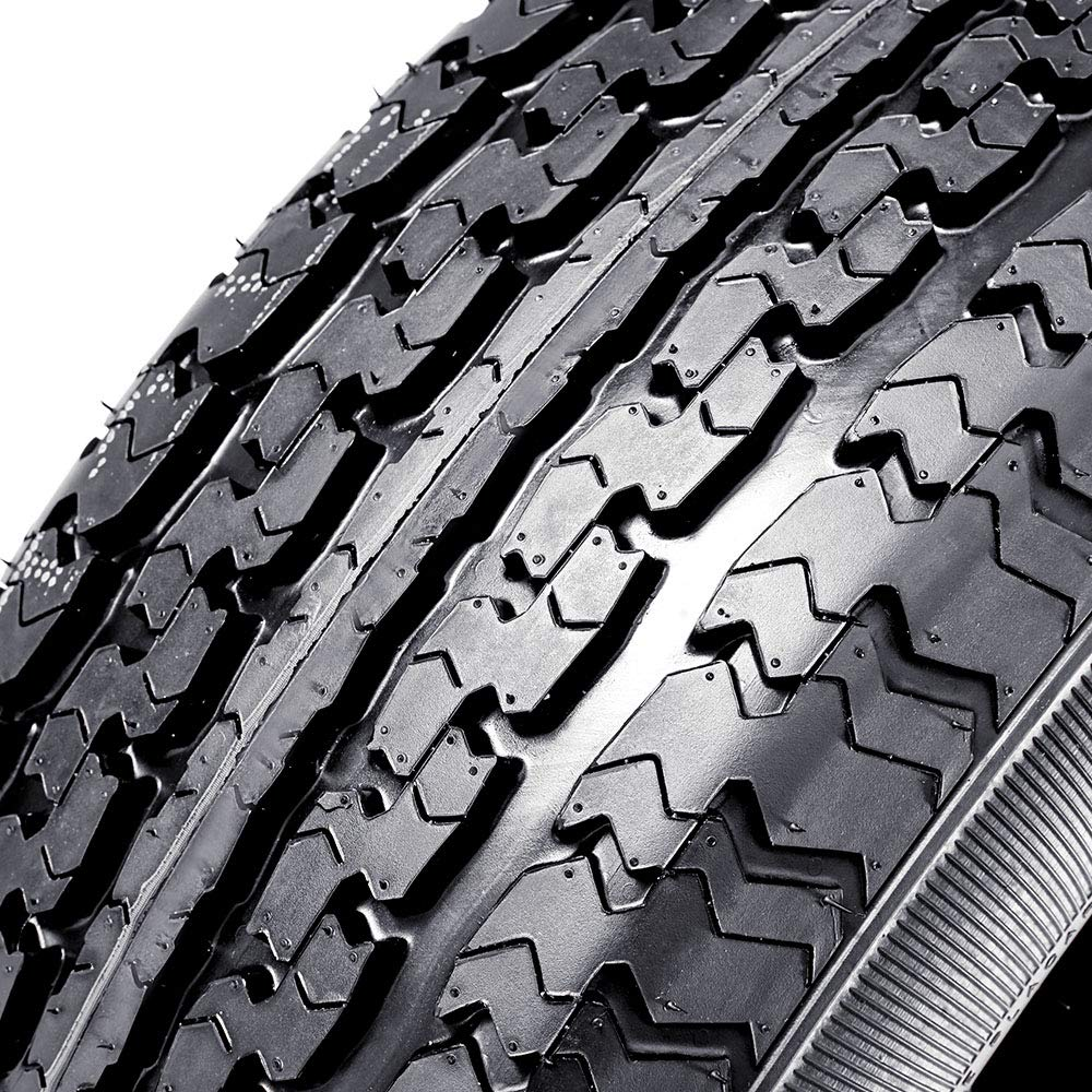 Set of 3 ST 205//75R14 Trailer Tires DOT Radial 20575R14 Tire 8 Ply Load Range D