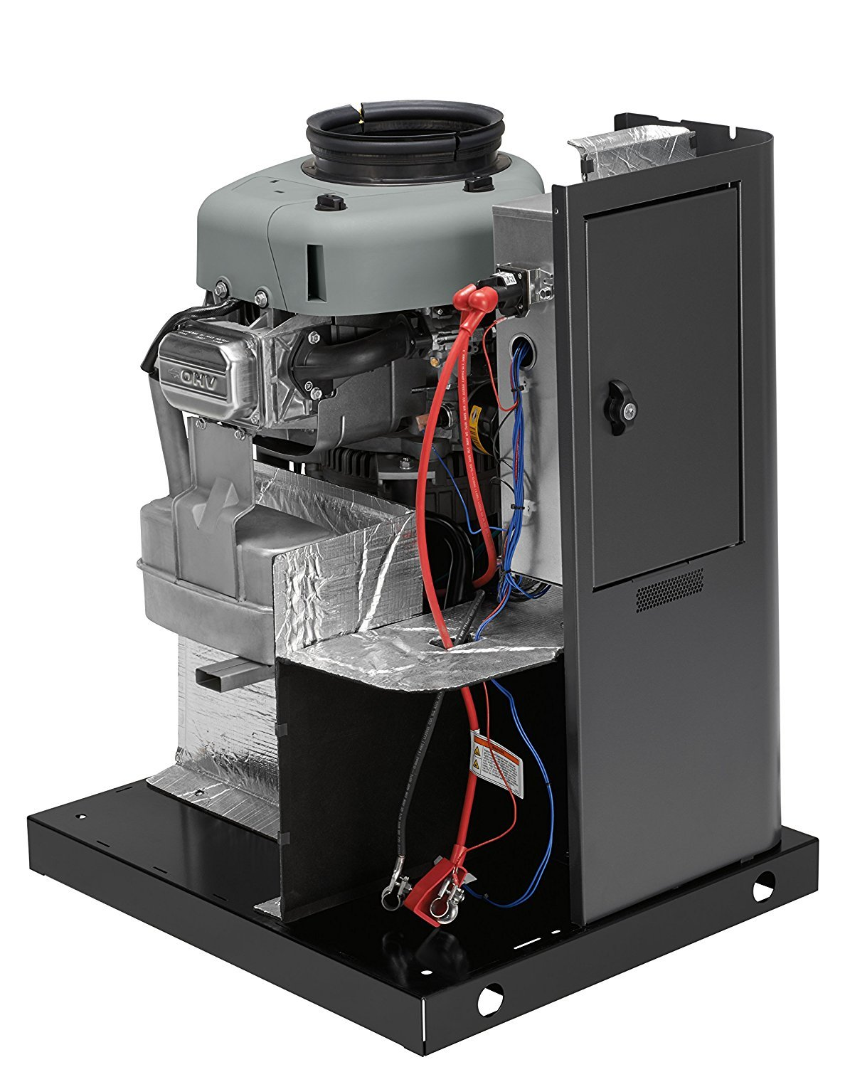 Briggs Stratton 40532 12kw Standby Generator With 100 And Transfer Switch Installed In A Home Electrical Amp 16 Circuit Garden Outdoor