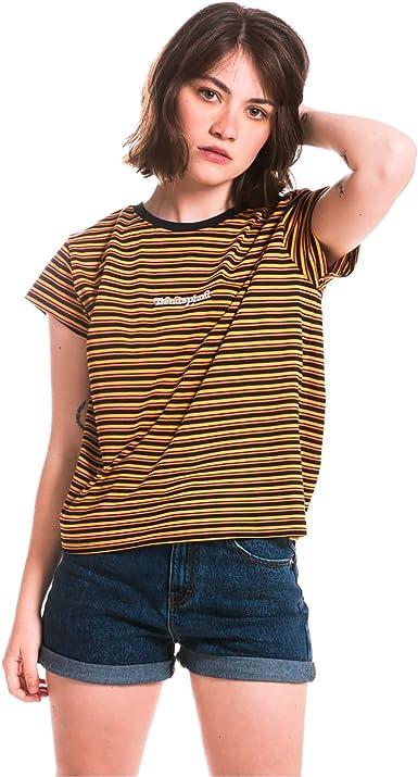 Camiseta para Mujer de Manga Corta Inspirada en la Moda de ...