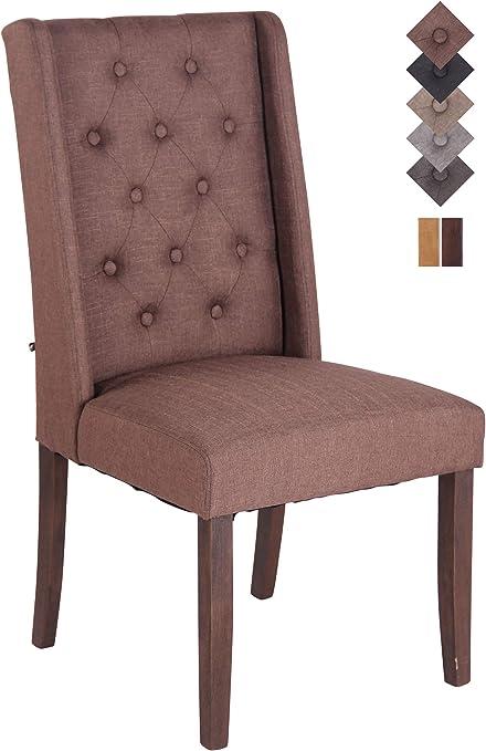 2er Set Esszimmerstuhl Malea Stoff Polsterstuhl Stuhl Set Küchenstuhl Lehnstuhl