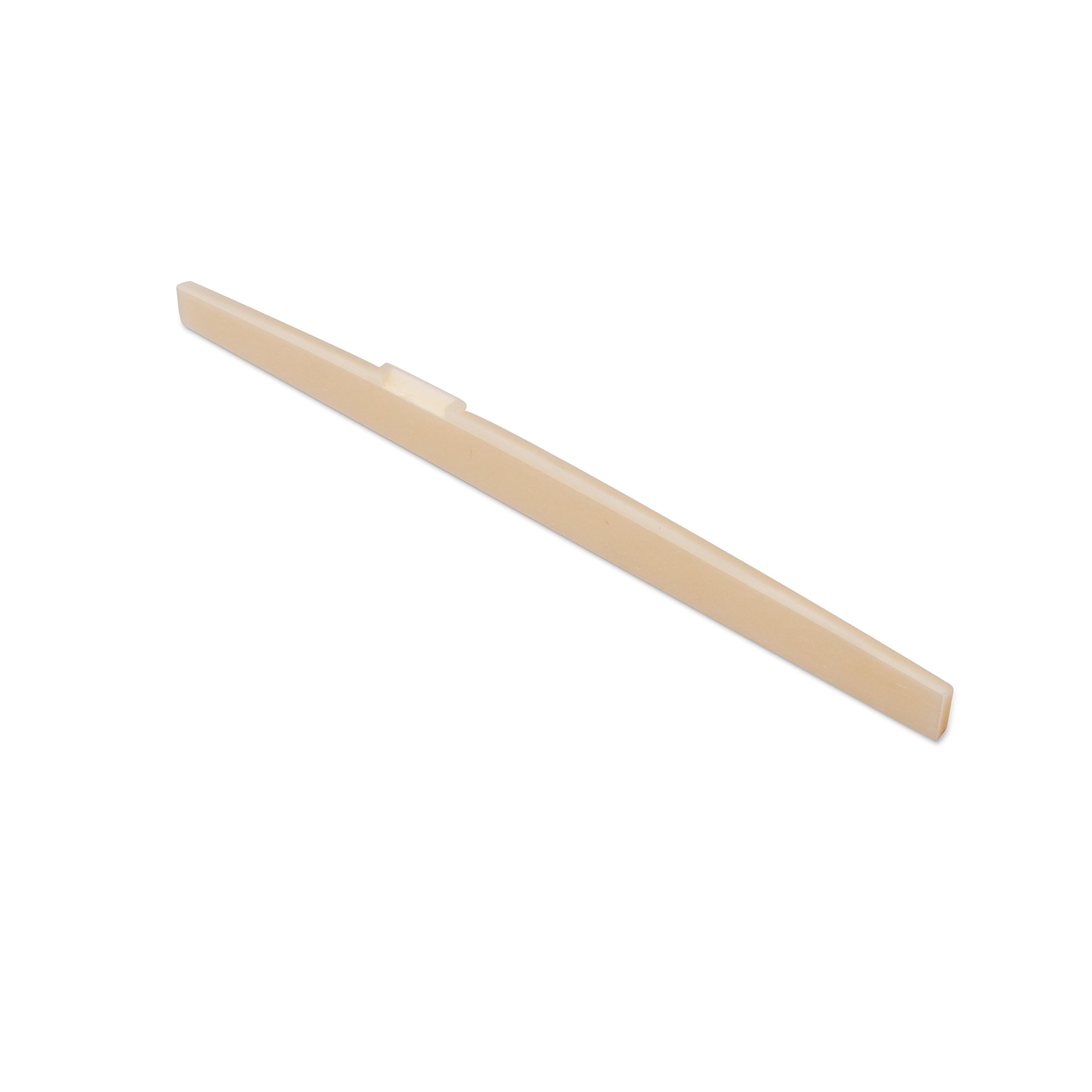 StewMac Unbleached Bone Intonated Saddle for Gibson