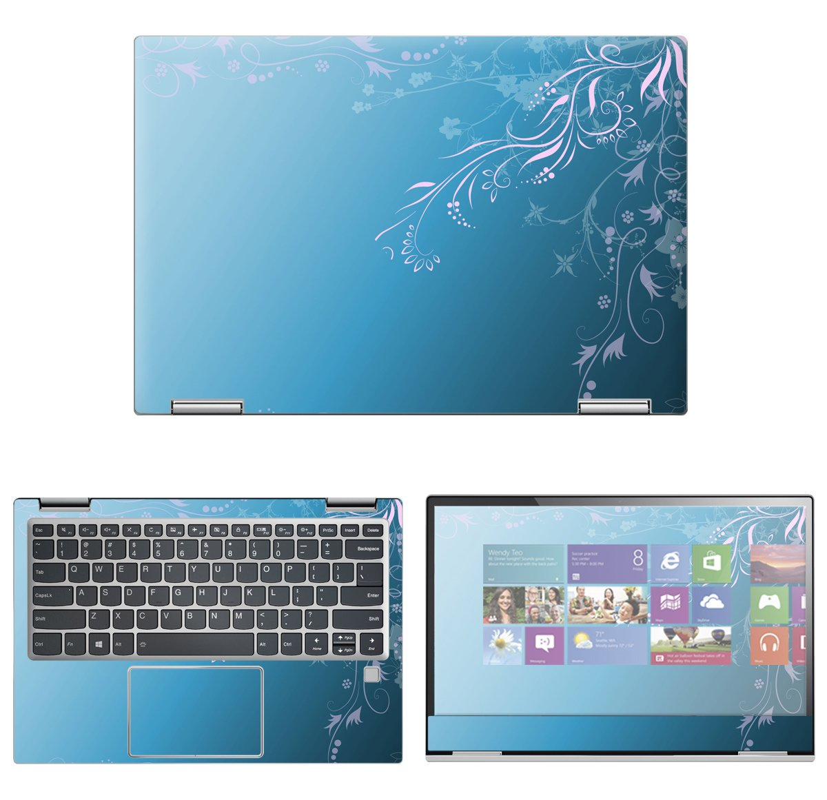 Decalrus - Protective Decal Skin Sticker for Lenovo Yoga 720 (13.3