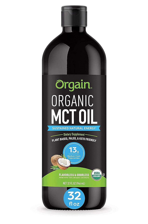 Organic MCT Oil Product Louisville-Jefferson County Mall from Non-GMO Coconuts by Paleo Keto Su Orgain