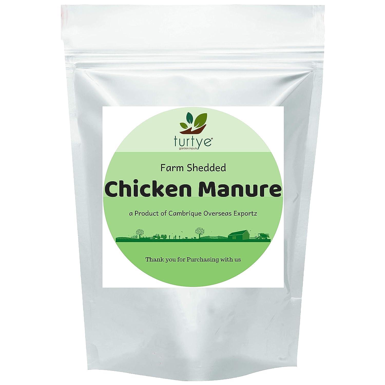 Turtye® Farm Shedded Chicken Manure - 5 Kg's - Home Gardening Plants