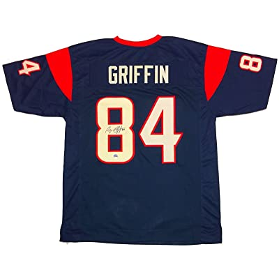 watch a1cda 84b01 Ryan Griffin (Tampa Bay Buccaneers) Autographed Jersey ...