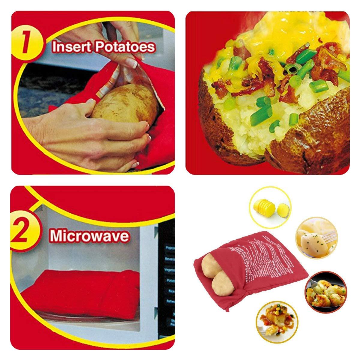 V-VAPE - Bolsa para cocinar patatas horneadas en microondas ...