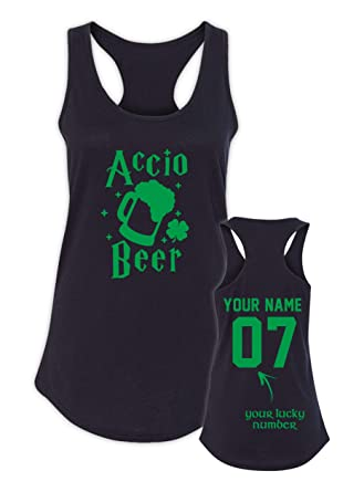 946fb8f76 Accio Beer St Patrick's Day Shirts Women - St Pattys Day Tanks - Paddys Tank  Tops