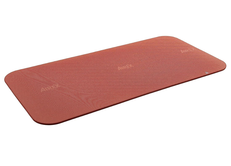 Airex Corona Workout Exercise Mat for Fitness, Gym Floor, Yoga, Pilates – Terra, 39 x 78 x 5 8