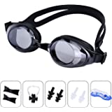 Swimming Goggles Anti Fog UV Protection Swim Goggle with Quick Release No Leaking for Adult Children Youth Kids Child