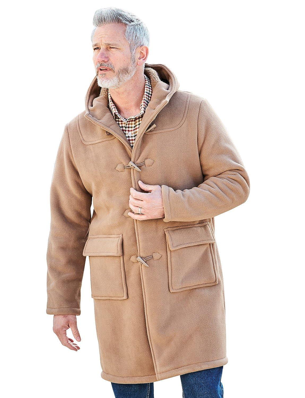 Chums Mens Borg Lined Duffle Coat Jacket