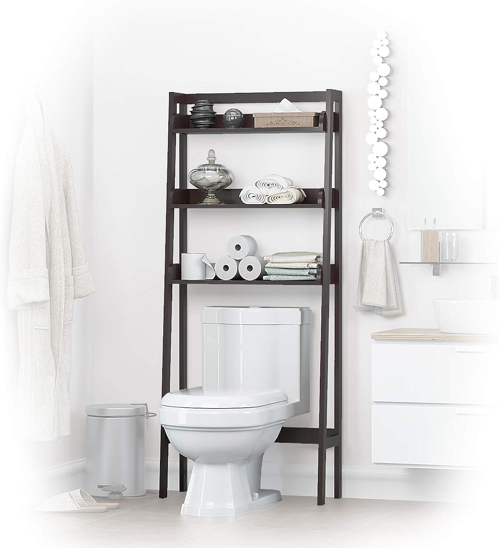 Wall Mounted Storage Bathroom Rack Shelf Cabinet Toilet Cabinet Bath Organizer