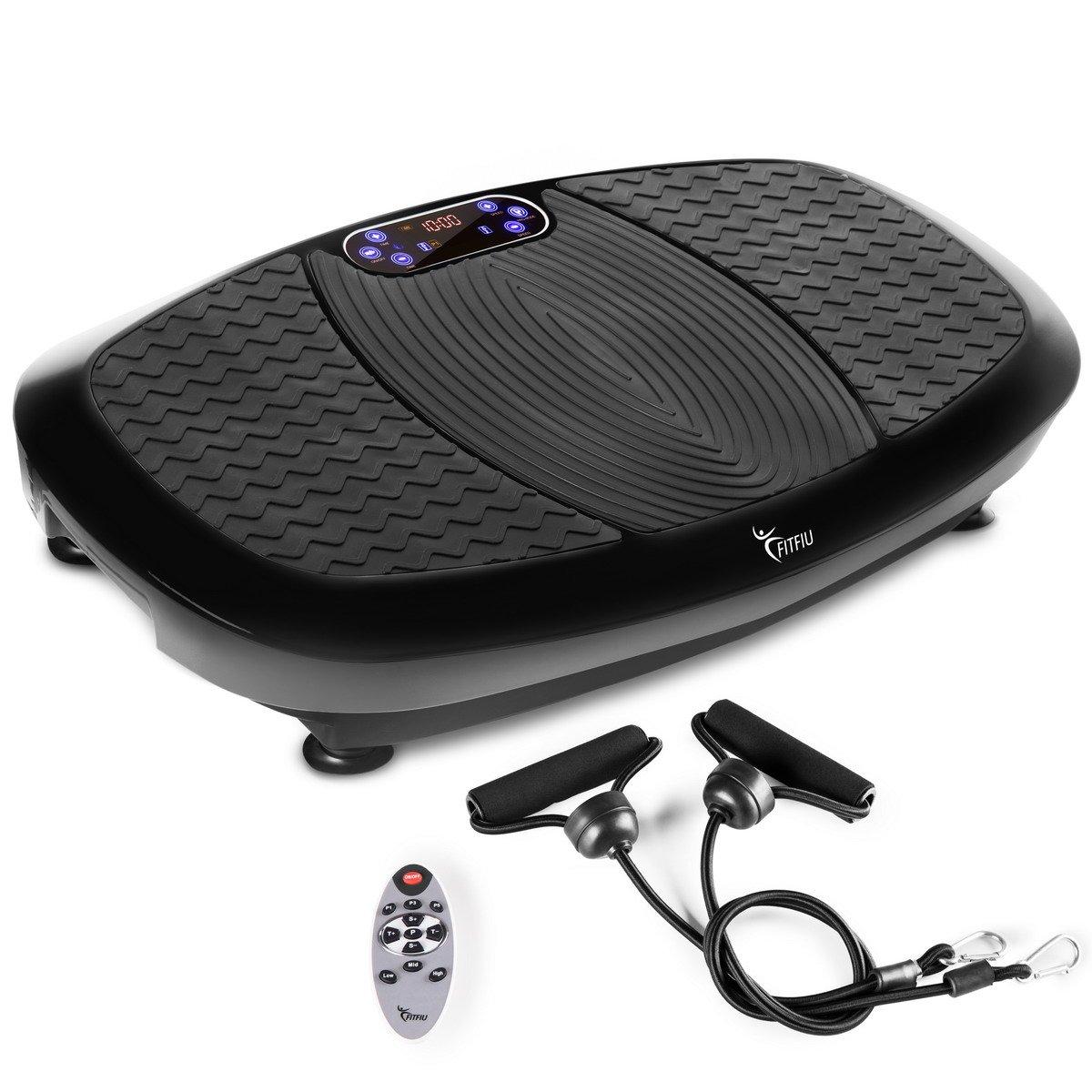 Fitfiu pld4000 N Vibrationsplatte, oszillierend, schwarz, Einheitsgröße