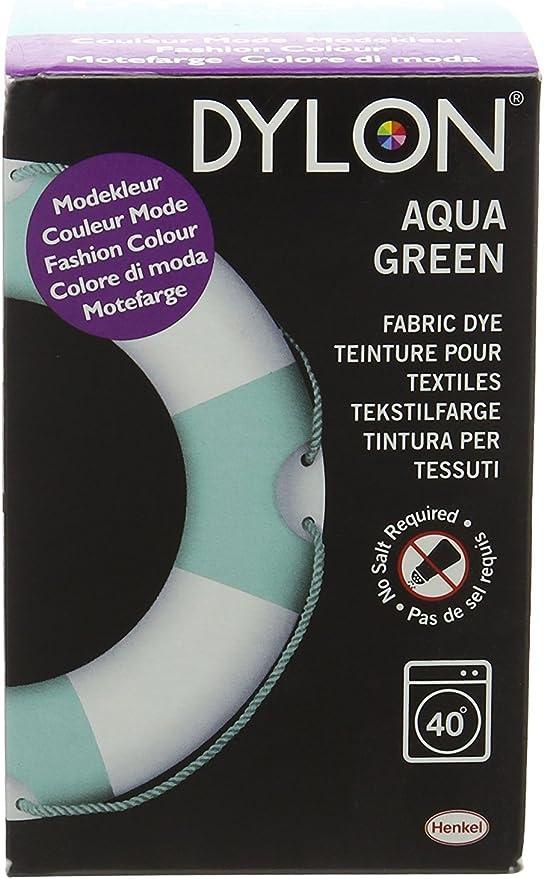Dylon - Tinte para máquina de 350 g, color verde aguamarina ...