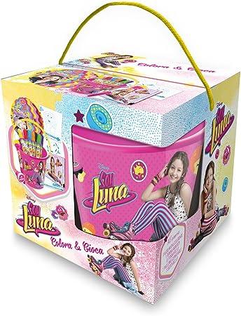 Soy Luna - Cubo Juega y Colora, 42928: Amazon.es: Juguetes y juegos