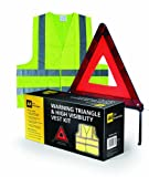 AA Folding Warning Triangle and Vest Kit