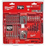 Milwaukee Drilling and Driving Bit Set (105-Piece)