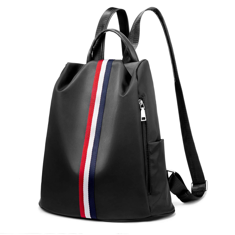 Casual Women Backpack Ladies Rucksack Waterproof Anti-Theft Daypack Shoulder Bag Black