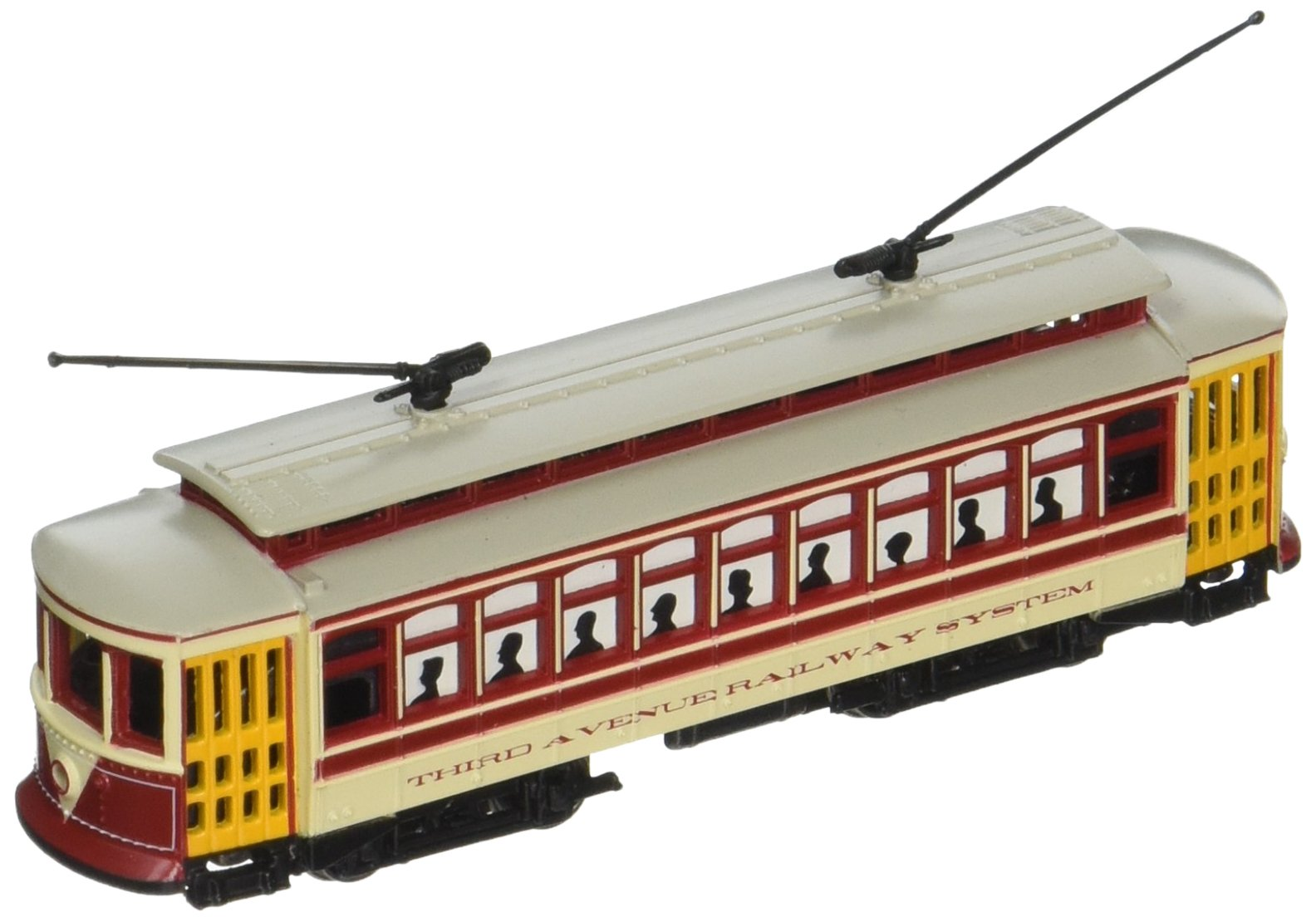 Bachmann Industries Brill Trolley - Nyc Third Avenue N Scale