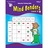 The Critical Thinking Mind Benders Book 4 School Workbook
