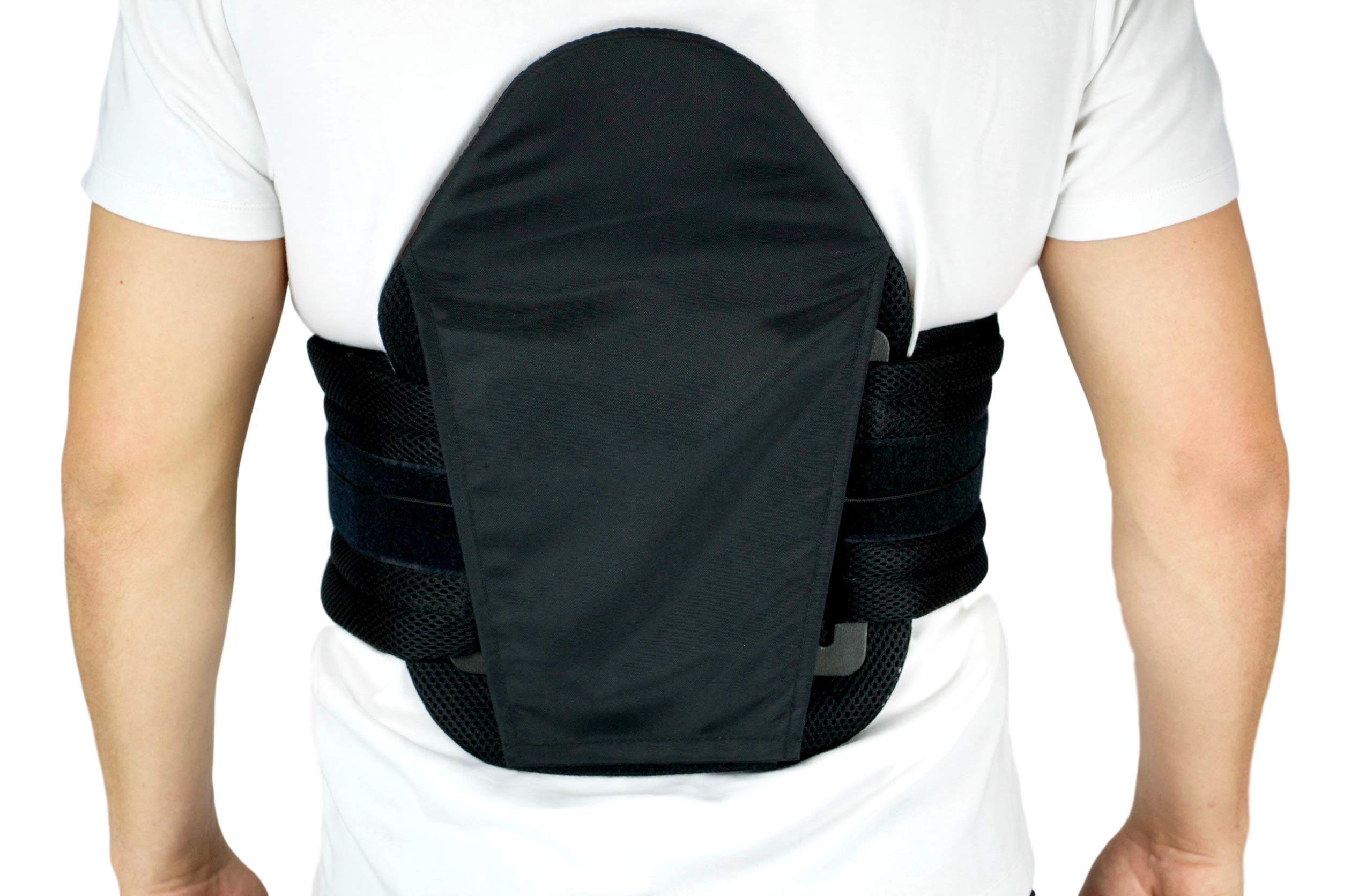 Restorative Medical String Back Brace | Lumbar Supportive Brace for Corrective Healing, Daily Use, and More (Standard) by Restorative Medical