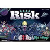 USAOPOLY Risk Rick and Morty Risk Game | Based on The Popular Adult Swim TV Show Rick & Morty | Official Rick and Morty Merch