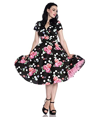 50's Kleid 4789Bekleidung Dress Collarette Bunny Hell 35AjRq4L
