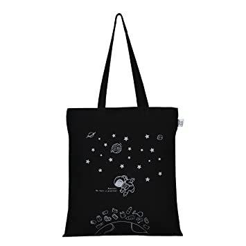 226832c2bce Ecoright Women S Reusable Tote Bag (Black,0102B01)  Amazon.in  Bags,  Wallets   Luggage