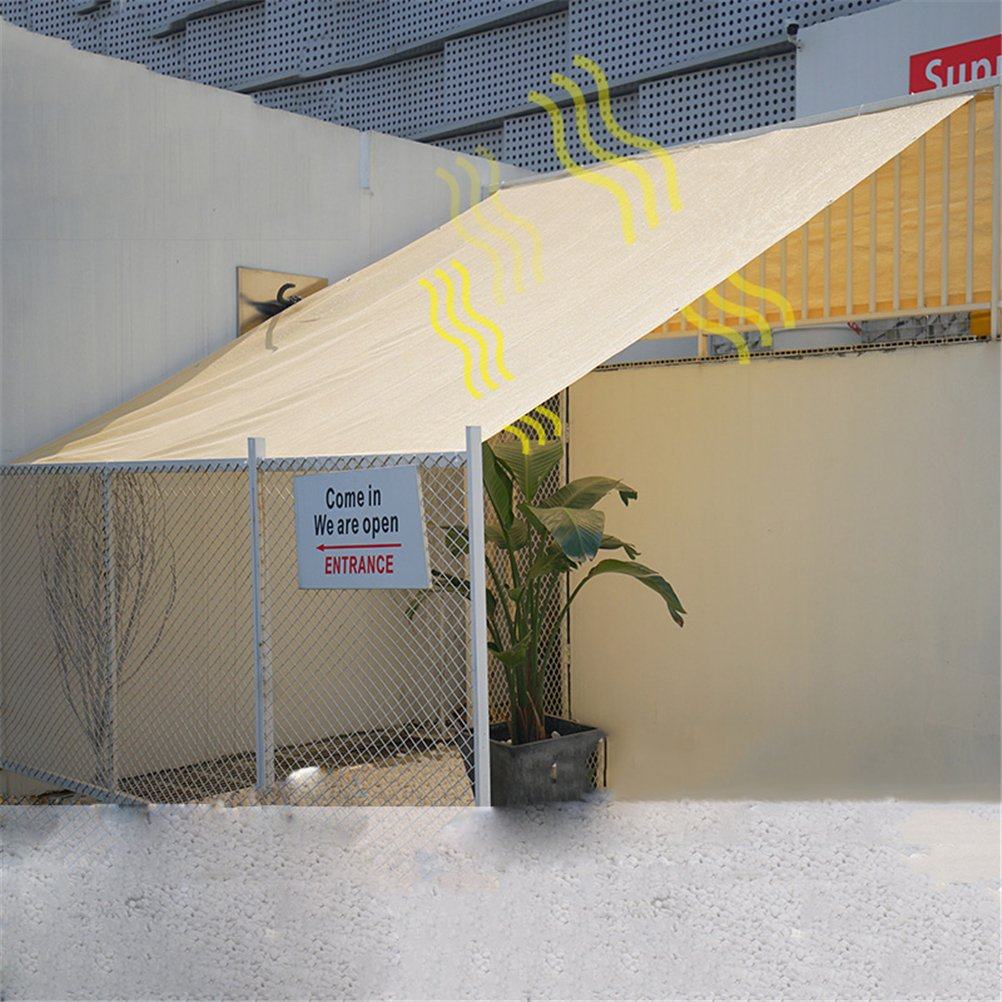 1m3m Various Sizes Sand color Sun Shade Sail, UV Block for Outdoor Patio Garden Facility and Activities,1M3M