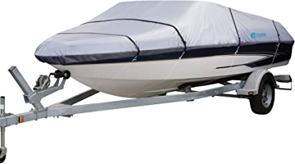 Fishing Ski Storage Mooring All Season Boat Cover Fits 16/'-18/'L