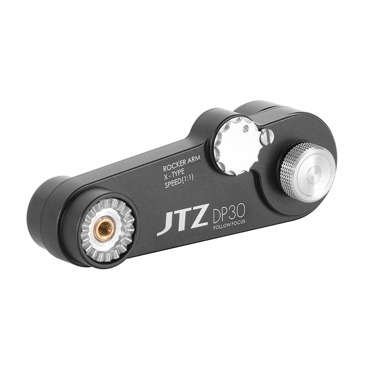 JTZ 1:1 Extension Arm for DP30 Cine Camera Follow Focus Canon C100 Sony A7 A9 Panasonic GH4 GH5 etc.