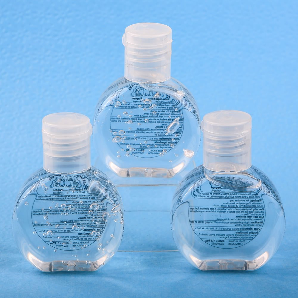 60 Perfectly Plain Hand Sanitizer Favors