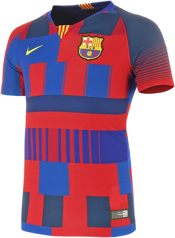 Nike Youth Barcelona 20th Anniversary Jersey 2019-20