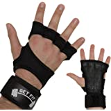 Weight Lifting Gloves with Silicone Padding and Built-In Wrist Wraps. Ideal for Cross Training, Lifting, WODs, Gym, Workout, Fitness, Weightlifting, Pull Ups, Bench Press, Dead Lift for Men & Women