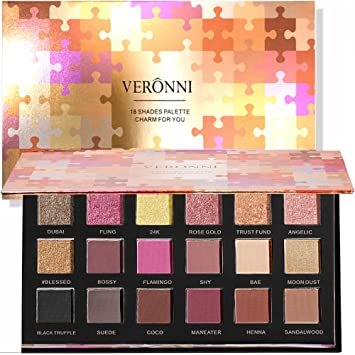 Beauty Glazed 2018 New Makeup Eyeshadow Palette Shimmer Matte Pigments 20 Colors Glitter Smokey Eye Shadows Make Up Powder Kit Carefully Selected Materials Eye Shadow
