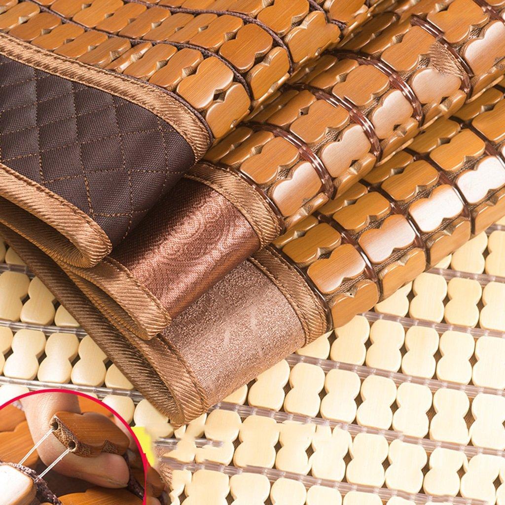 Estera de bambú estera plegable sofá sofá plegable cojín estera de verano estera de la familia tapete de tatami estera antideslizante suave y cómodo tapete estera de yoga ( Color : Marrón , Size : 50130cm ) 615b54