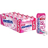 Mentos Pure Fresh Chewing Gum, Bubble Fresh, Sugar Free, 10 Pocket Bottles, 10 x 30 g, Bubble Fresh