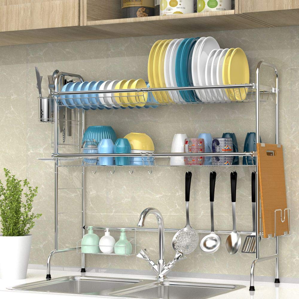 Amazon.com: iSPECLE - Escurridor para fregadero: Kitchen ...