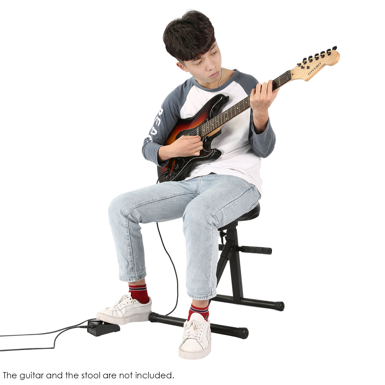 Neewer Pedal de un botón para encender y apagar con cable, ideal para guitarra bajo y amplificadores de teclado: Amazon.es: Instrumentos musicales