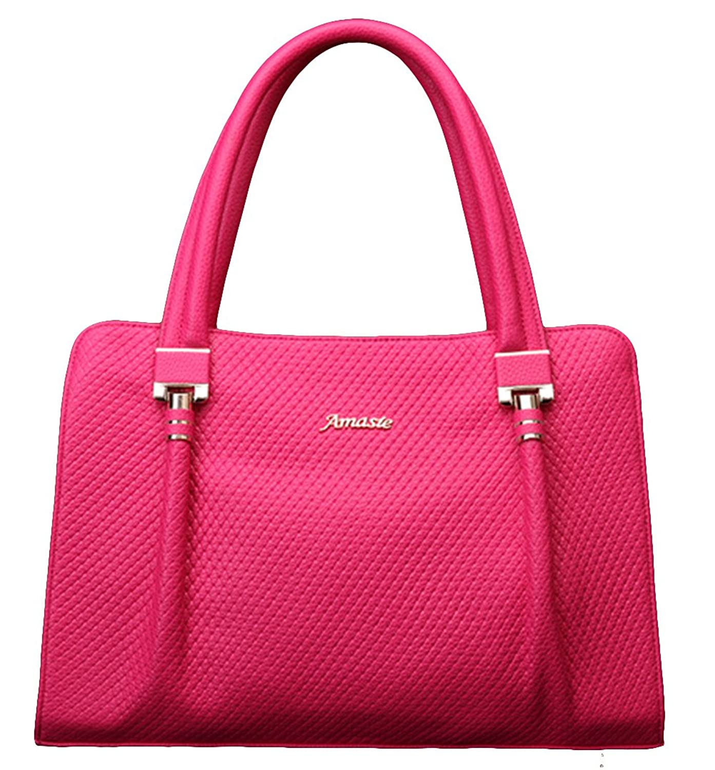 Chicside Women's Formal Tote Handbag Rose Red One Size