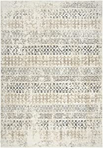 Rizzy Home Xcite Power-Loomed Area Rug, 8' x 10', Beige/Black